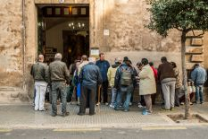 Soup kitchen in Mallorca